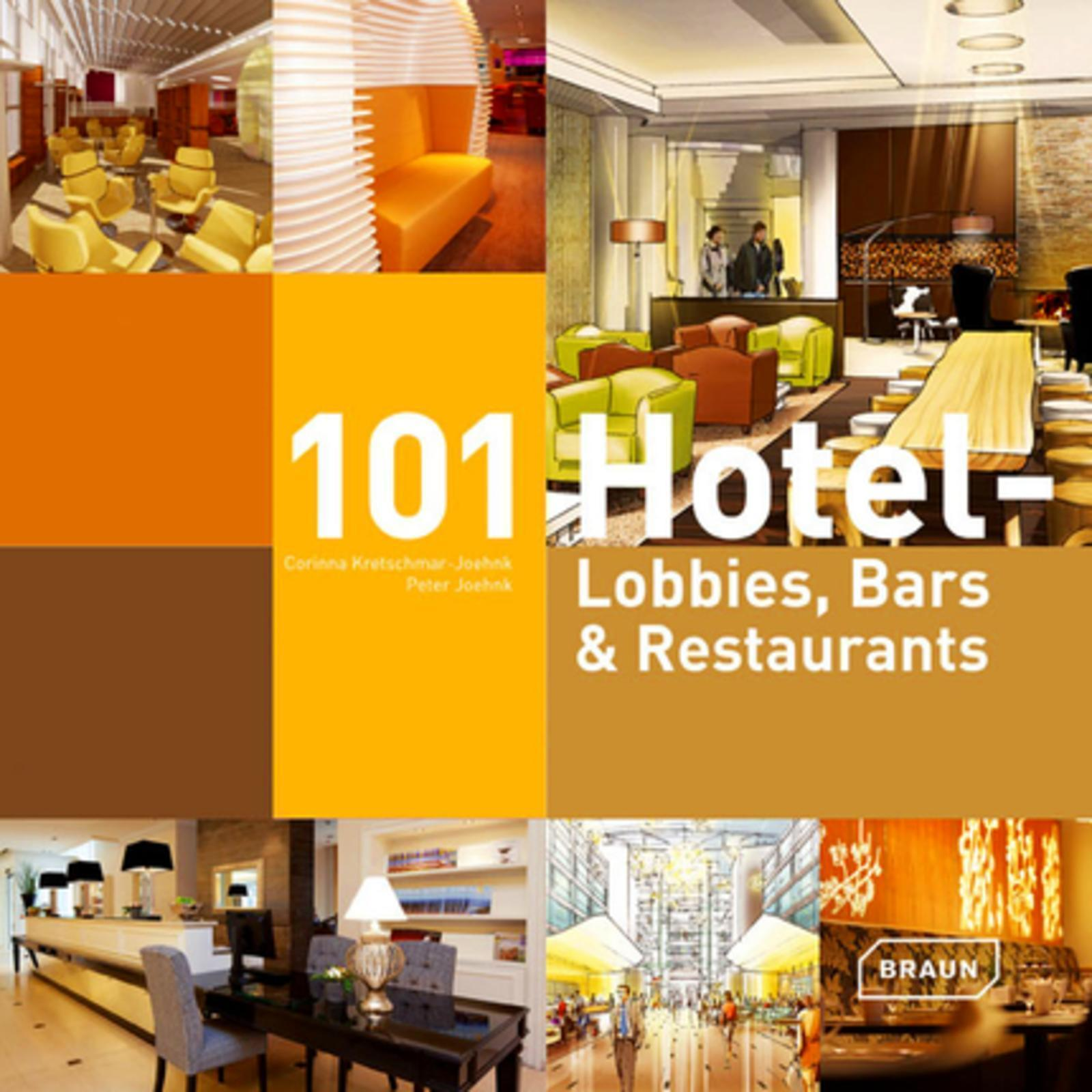 101 HOTEL - LOBBIES, BARS ET RESTAURANTS.