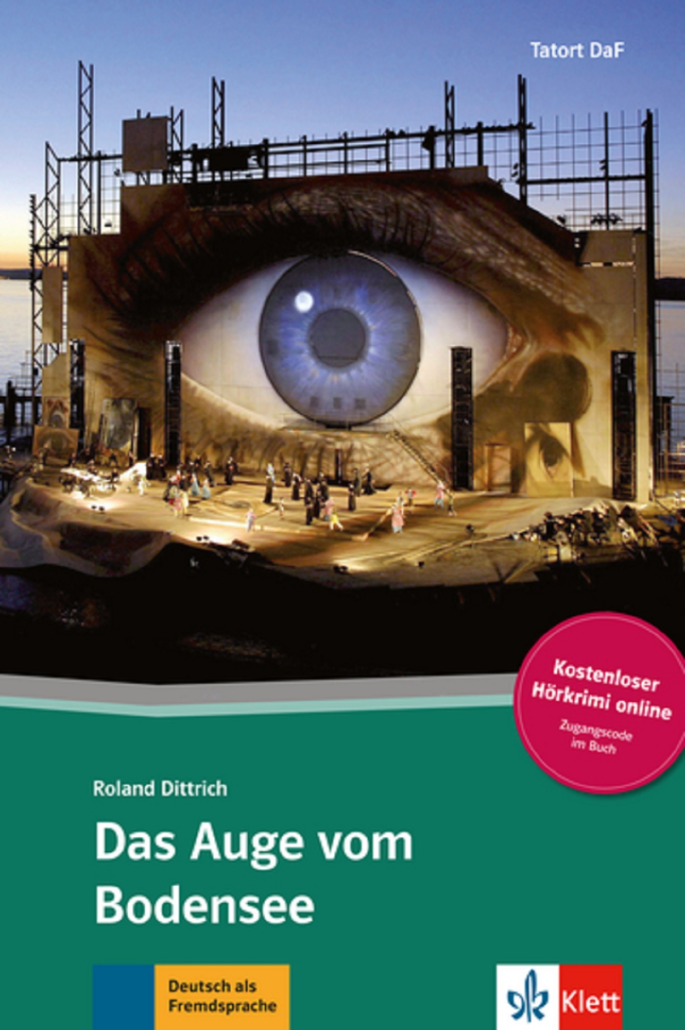 DAS AUGE VOM BODENSEE - LIVRE + AUDIO TELECHARGEABLES