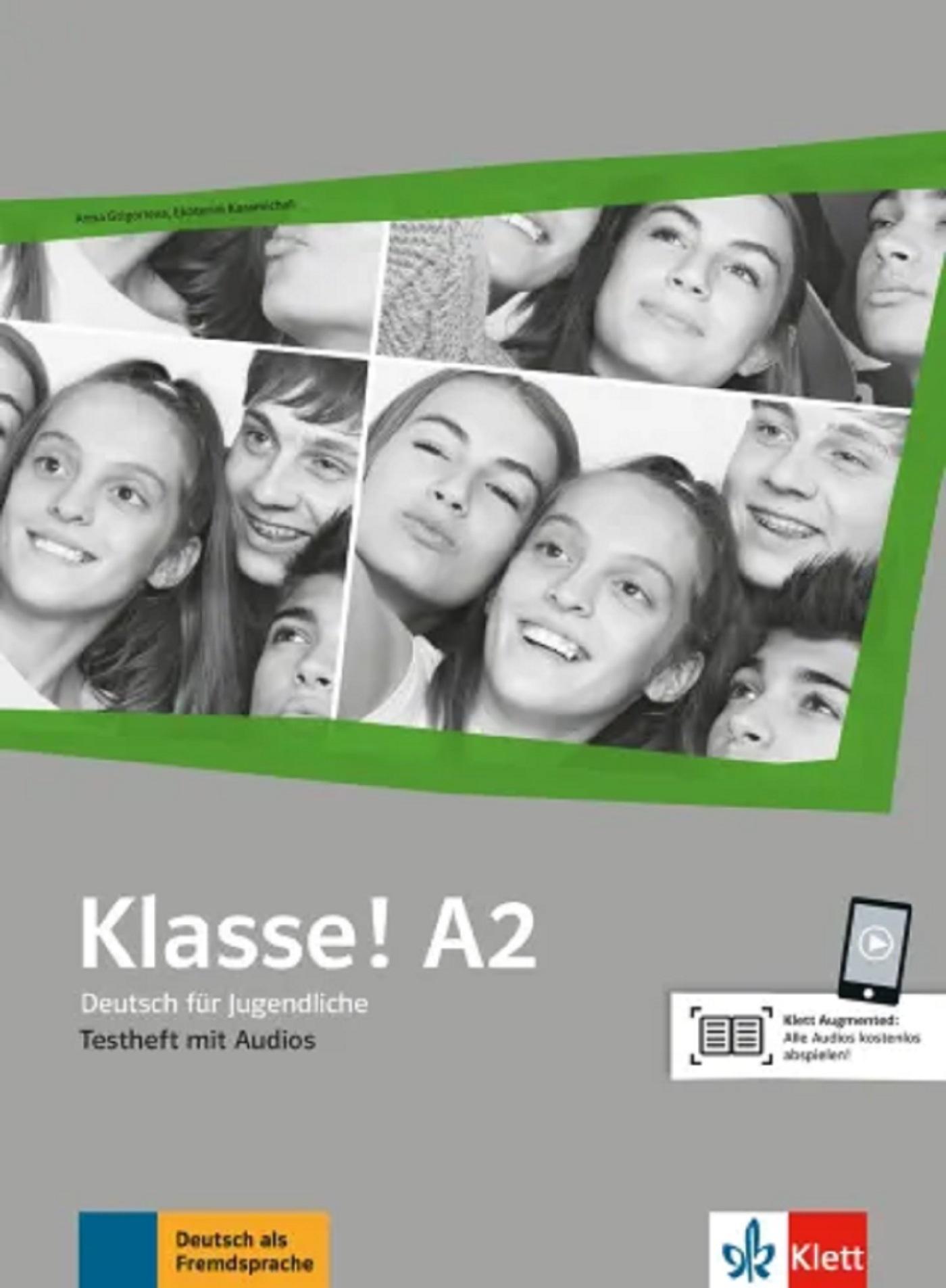 KLASSE! A2 - CAHIER D'EVALUATIONS + AUDIOS