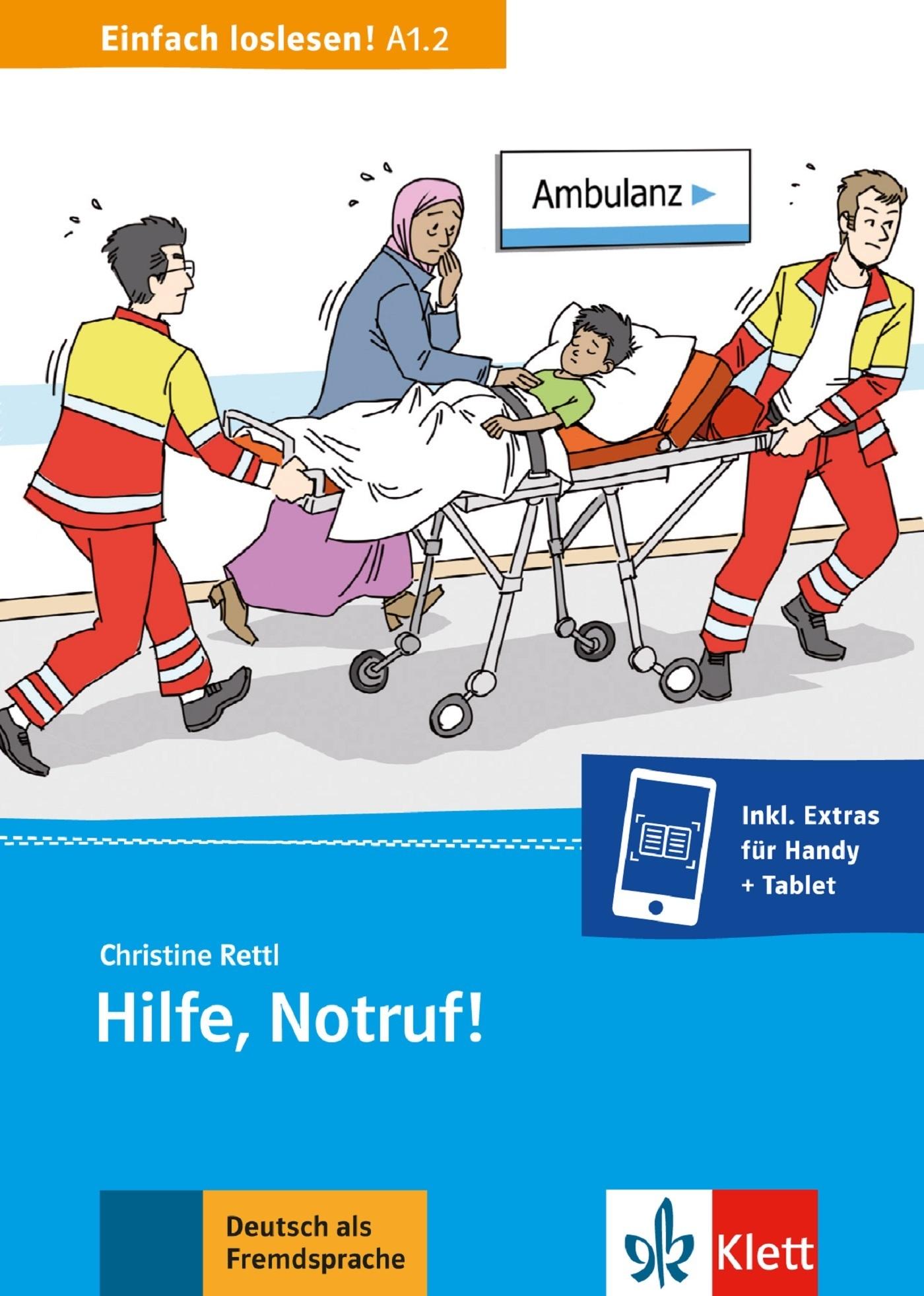 HILFE, NOTRUF! (NIVEAU A12) - LIVRE + MP3 TELECHARGEABLE