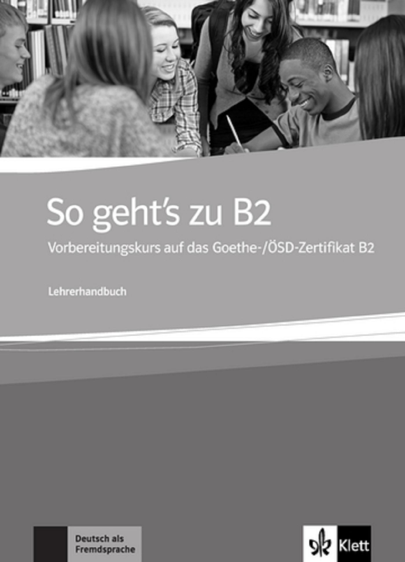 SO GEHT'S ZU B2 - LIVRE DU PROFESSEUR