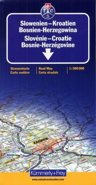 SLOVENIE-CROATIE BOSNIE-HERZEGOVINE