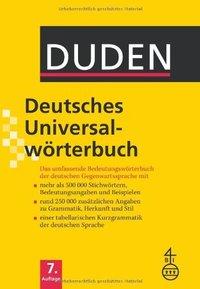 DEUTSCHES UNIVERSAL WORTERBUCH