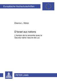 D'ISRAEL AUX NATIONS