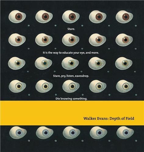 WALKER EVANS DEPTH OF FIELD /ANGLAIS