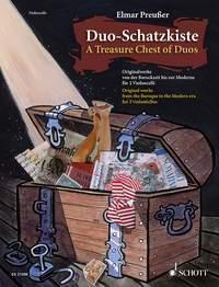A TREASURE CHEST OF DUOS POUR 2 VIOLONCELLES. DUO-SCHATZKISTE