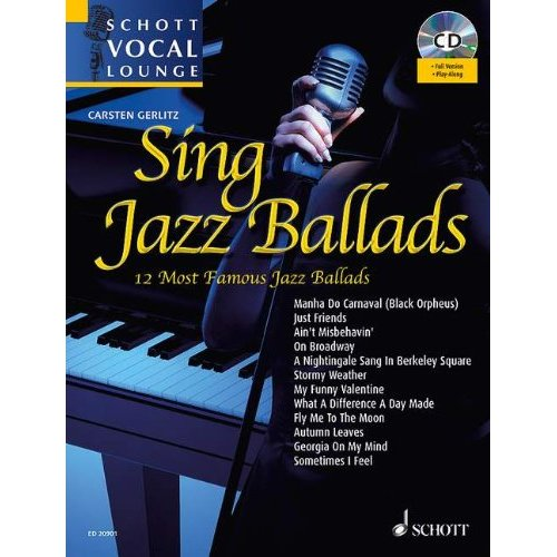 SING JAZZ BALLADS CHANT +CD