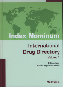 INDEX NOMINUM : INTERNATIONAL DRUG DIRECTORY (20TH ED.) (2 VOLUMES WITH CD-ROM)