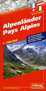 PAYS ALPINS 1/700 000