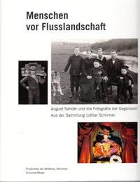 AUGUST SANDER MENSCHEN VOR FLUSSLANDSCHAFT /ALLEMAND