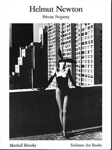 HELMUT NEWTON PRIVATE PROPERTY (BIBLIOTHEQUE VISUELLE) (NEW EDITION) /ANGLAIS