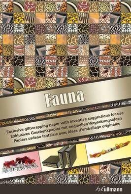 PAPIER CADEAU : FAUNA ( PETIT FORMAT-EDITION TRILINGUE, GB/F/D)