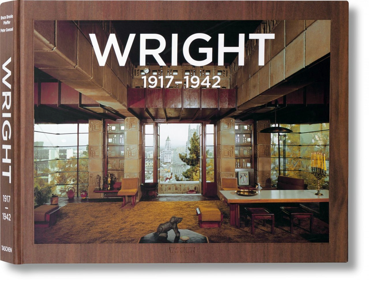 FRANK LLOYD WRIGHT. COMPLETE WORKS. VOL. 2, 1917-1942 - WRIGHT, VOL.2 1917-1942-TRILINGUE