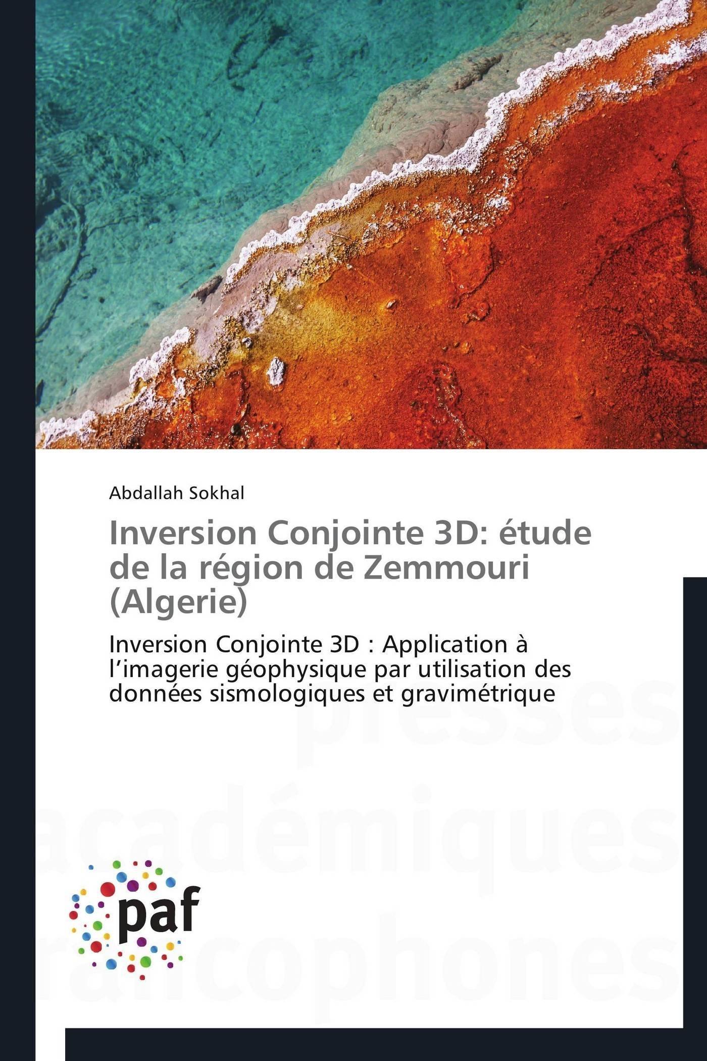 INVERSION CONJOINTE 3D: ETUDE DE LA REGION DE ZEMMOURI (ALGERIE)