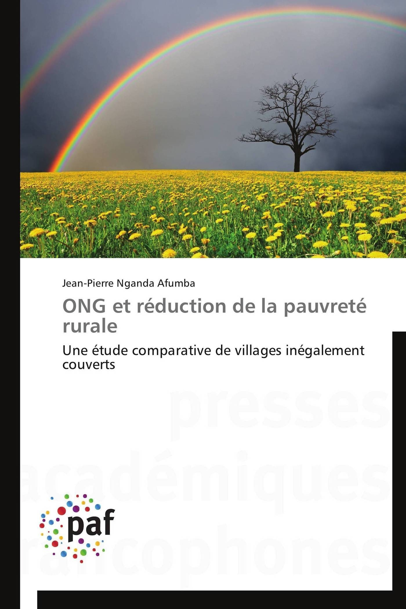 ONG ET REDUCTION DE LA PAUVRETE RURALE