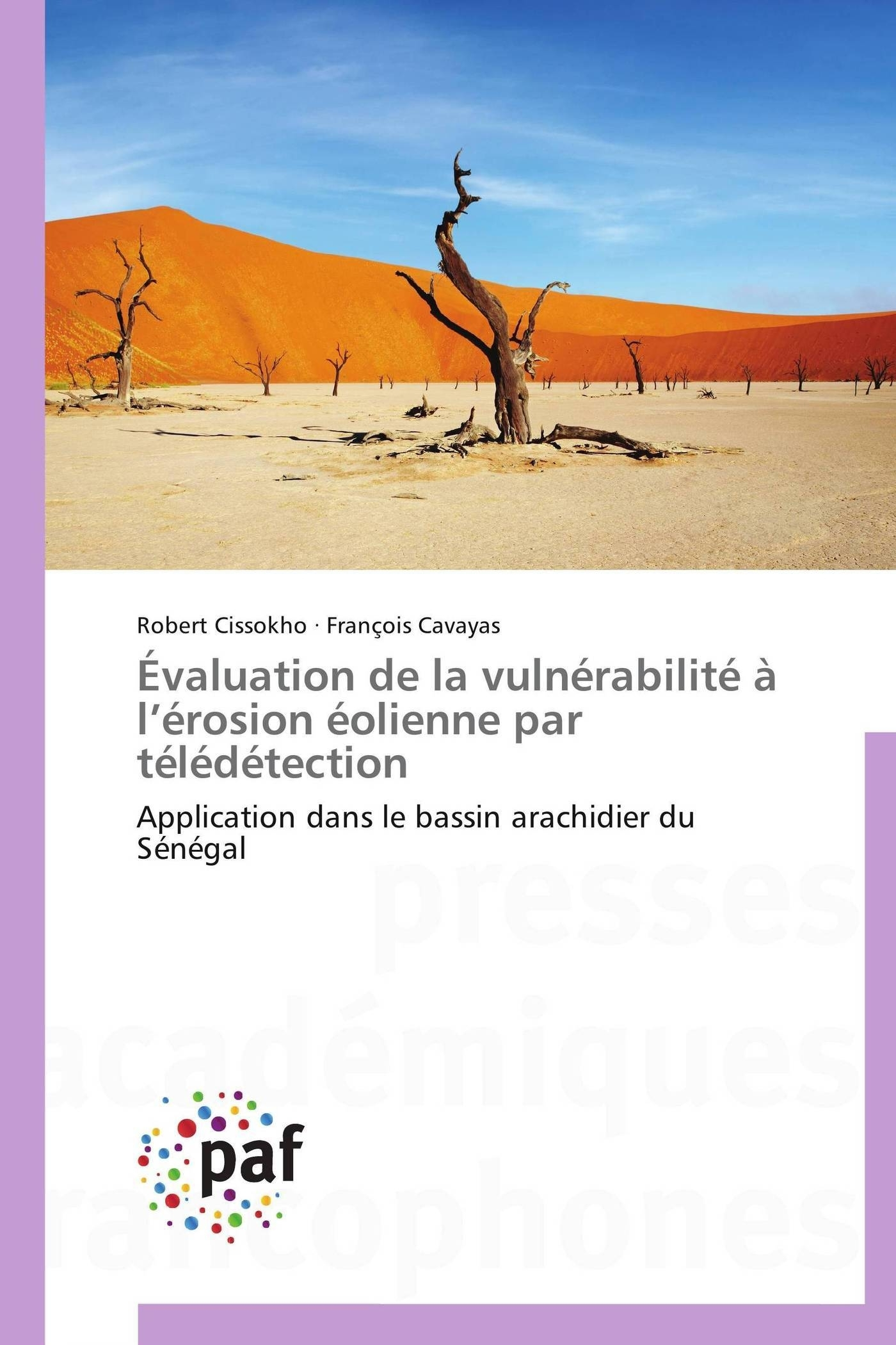 EVALUATION DE LA VULNERABILITE A L EROSION EOLIENNE PAR TELEDETECTION