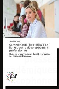 COMMUNAUTE DE PRATIQUE EN LIGNE POUR LE DEVELOPPEMENT PROFESSIONNEL