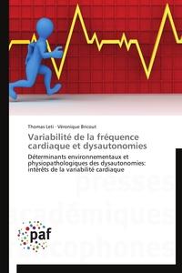 VARIABILITE DE LA FREQUENCE CARDIAQUE ET DYSAUTONOMIES