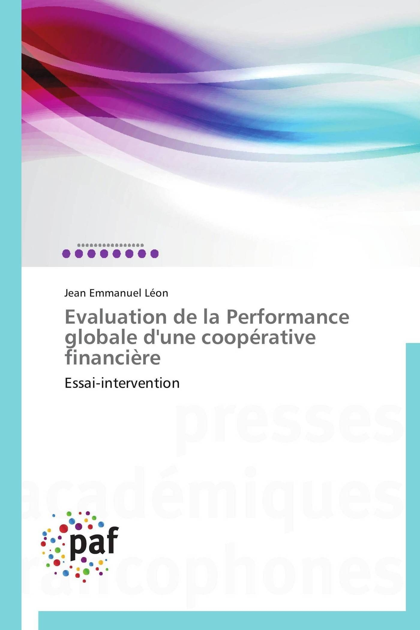EVALUATION DE LA PERFORMANCE GLOBALE D'UNE COOPERATIVE FINANCIERE