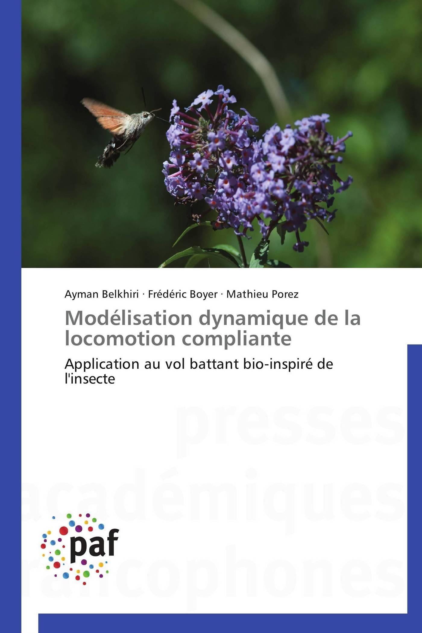 MODELISATION DYNAMIQUE DE LA LOCOMOTION COMPLIANTE