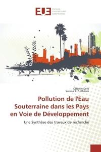 POLLUTION DE L'EAU SOUTERRAINE DANS LES PAYS EN VOIE DE DEVELOPPEMENT