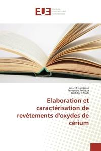 ELABORATION ET CARACTERISATION DE REVETEMENTS D'OXYDES DE CERIUM