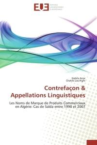 CONTREFACON & APPELLATIONS LINGUISTIQUES