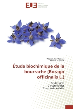 ETUDE BIOCHIMIQUE DE LA BOURRACHE (BORAGO OFFICINALIS L.)
