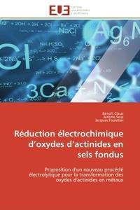 REDUCTION ELECTROCHIMIQUE D OXYDES D ACTINIDES EN SELS FONDUS