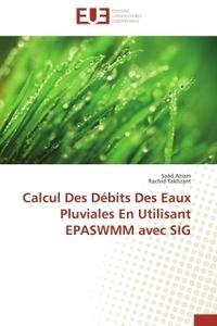 CALCUL  DES DEBITS DES EAUX PLUVIALES EN UTILISANT EPASWMM AVEC SIG