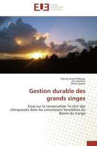 GESTION DURABLE DES GRANDS SINGES