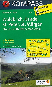 WALDKIRCH/KANDEL 884  1/25.000