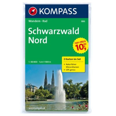 AED SCHWARZWALD NORD 886  1/50.000