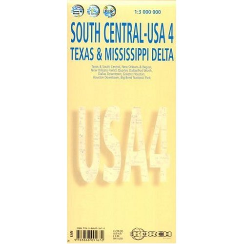 *SOUTH CENTRAL - USA 4 - TEXAS & MISSISSIPPI DELTA