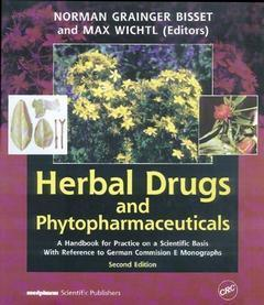 HERBAL DRUGS AND PHYTOPHARMACEUTICALS, A HANDBOOK FOR PRACTICE ON A SCIENTIFIC BASIS WITH REFERENCE