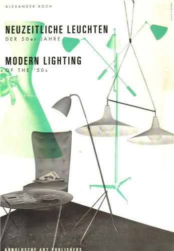 MODERN LIGHTING IN THE 50'S /FRANCAIS/ANGLAIS/ALLEMAND