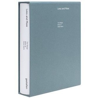 LESS AND MORE THE DESIGN ETHOS OF DIETER RAMS (REPRINT) /ANGLAIS