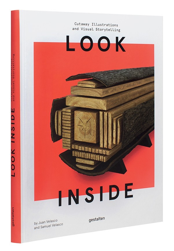 LOOK INSIDE CUTAWAY ILLUSTRATIONS AND VISUAL STORYTELLING /ANGLAIS