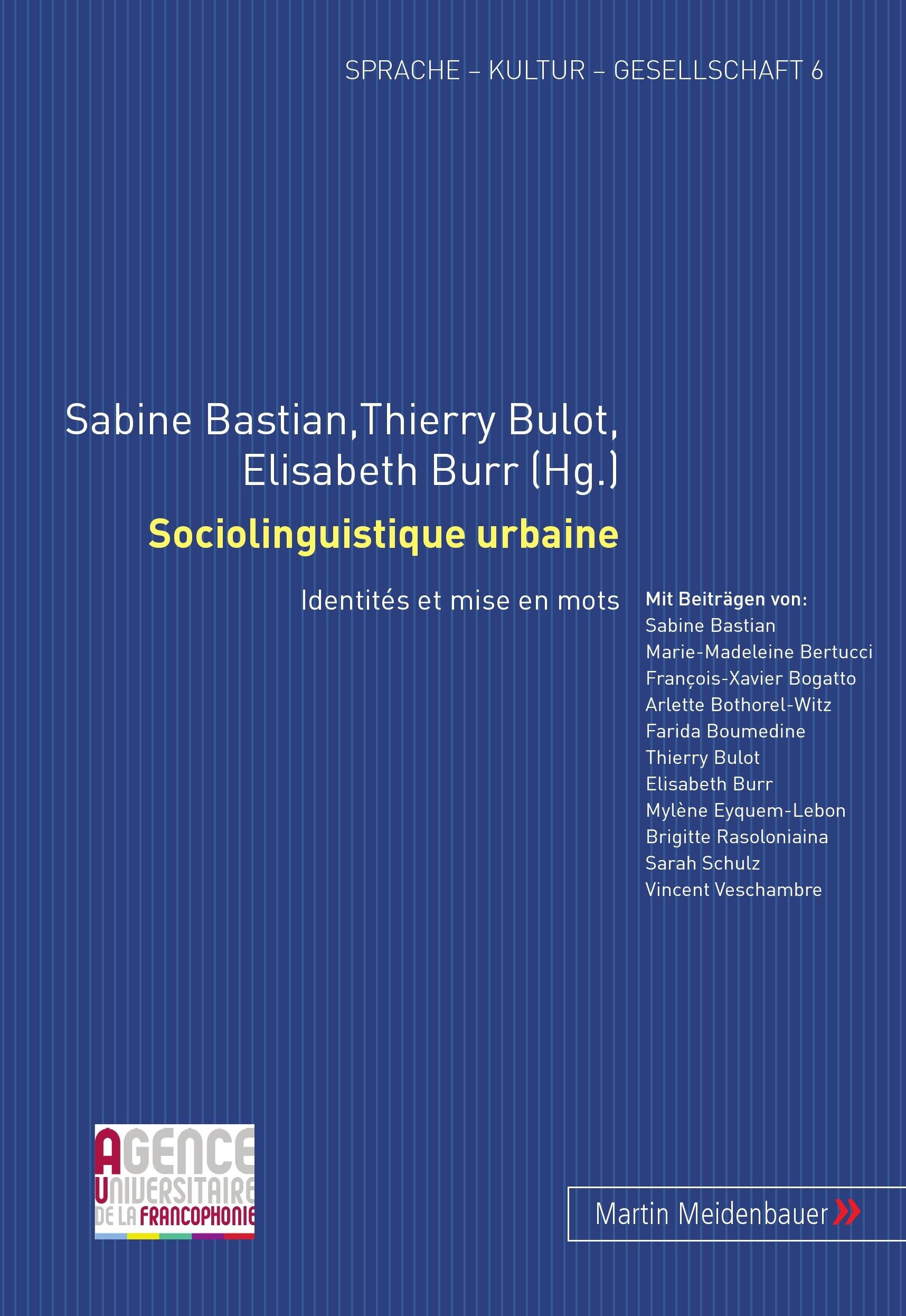 SOCIOLINGUISTIQUE URBAINE