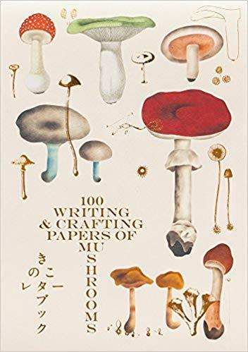 100 WRITING & CRAFTING PAPERS OF MUSHROOMS /JAPONAIS
