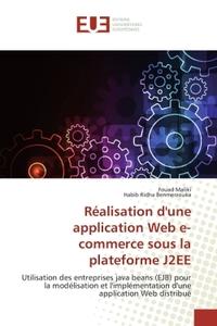 REALISATION D'UNE APPLICATION WEB E-COMMERCE SOUS LA PLATEFORME J2EE