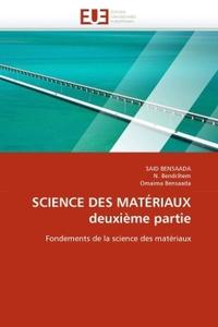 SCIENCE DES MATERIAUX DEUXIEME PARTIE