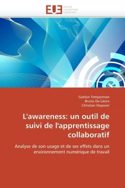 L'AWARENESS: UN OUTIL DE SUIVI DE L'APPRENTISSAGE COLLABORATIF