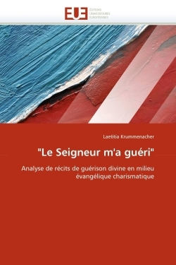 """""""LE SEIGNEUR M''A GUERI"""""""