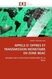 APPELS D''OFFRES ET TRANSMISSION MONETAIRE EN ZONE BEAC