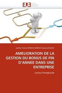 AMELIORATION DE LA GESTION DU BONUS DE FIN D''ANNEE DANS UNE ENTREPRISE