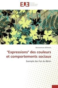 """""""EXPRESSIONS"""" DES COULEURS ET COMPORTEMENTS SOCIAUX"""
