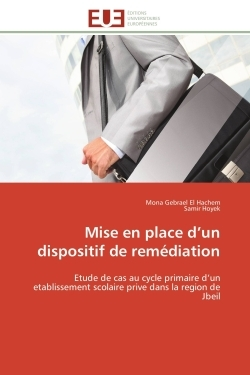 MISE EN PLACE D UN DISPOSITIF DE REMEDIATION