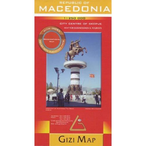 MACEDONIA  1/250.000 (GEOGRAPHICAL)