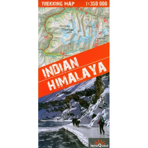 INDIAN HIMALAYA  1/350.000
